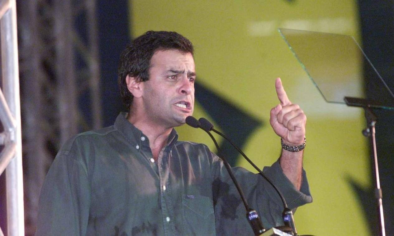 Aécio Neves (PSDB-MG) - 2001/2002 Foto: Ailton de Freitas / Agência O Globo