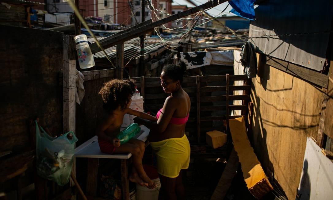 Na América Latina, os 10% mais ricos captam 54% da renda dos países Foto: Hermes de Paula / Agência O Globo