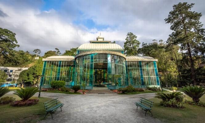Palácio de Cristal, em Petrópolis Foto: Banco de Imagens