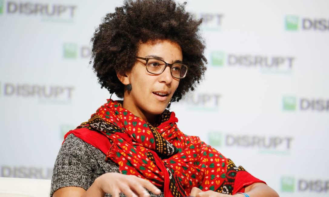 Timnit Gebru foi demitida após enviar email a grupo de funcionários questionando 'silenciamento de vozes marginalizadas' Foto: Kimberly White / Wikipédia - By TechCrunch