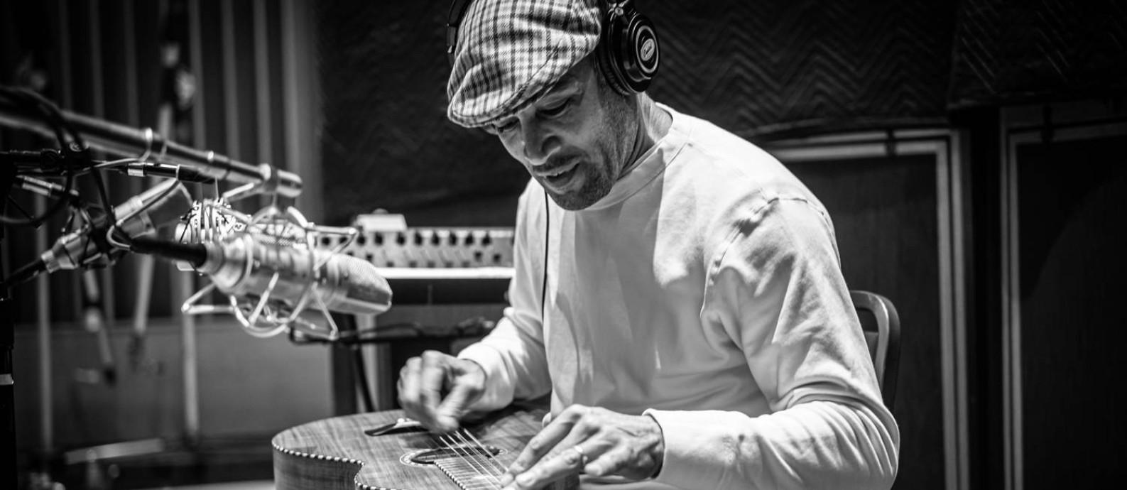 O cantor e compositor americano Ben Harper Foto: Mathieu Bitton