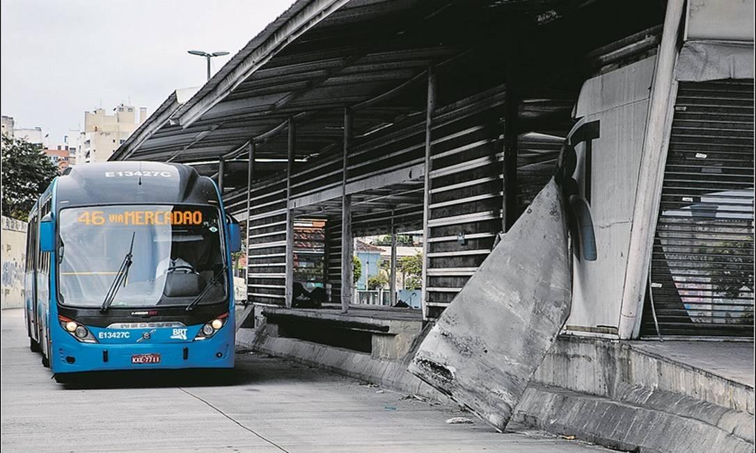 Foto: Uma das promessas do Paes e recuperar a malha rodoviária do BRT