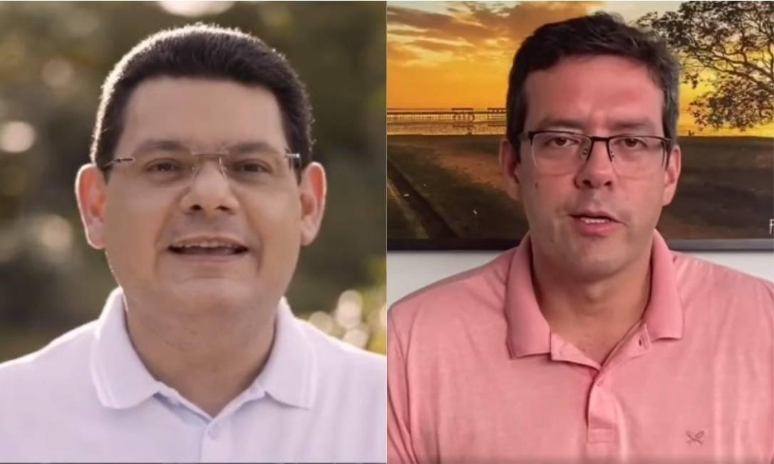 Os candidatos à prefeitura de Macapá Josiel Alcolumbre e Dr Furlan Foto: Reprodução/Facebook