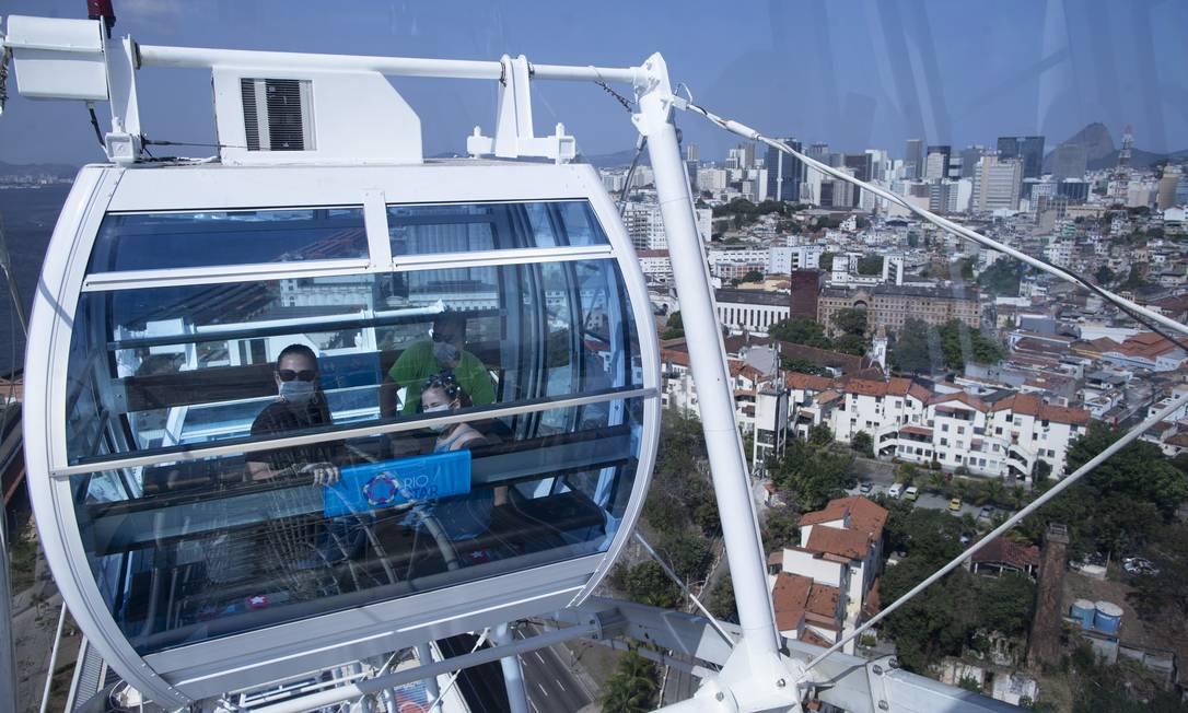 Rio Star reabriu em 15 de agosto de 2020 Foto: Márcia Foletto / Agência O Globo