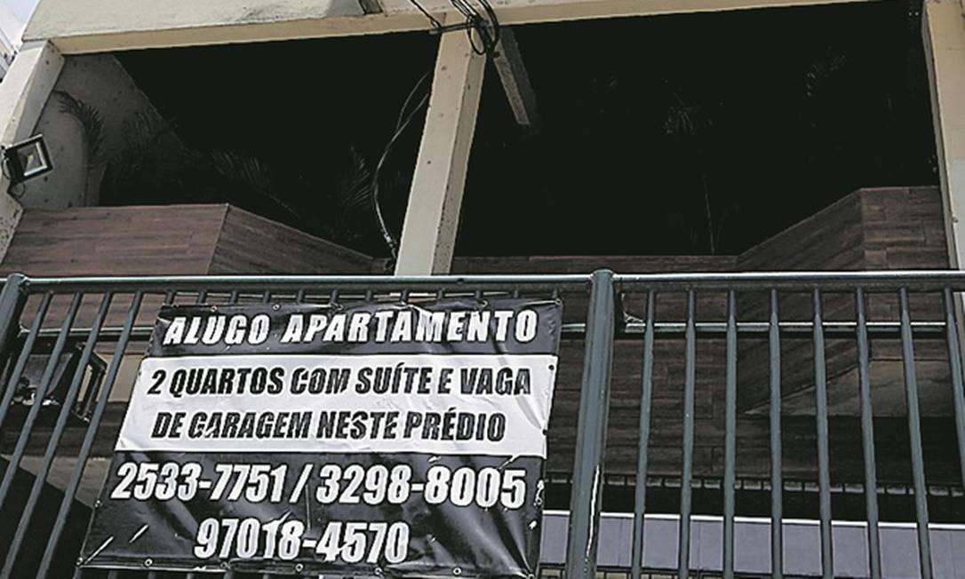 Vacância: Alto número de imóveis vazios na cidade estimula as negociações Foto: Fabiano Rocha/Agência O Globo