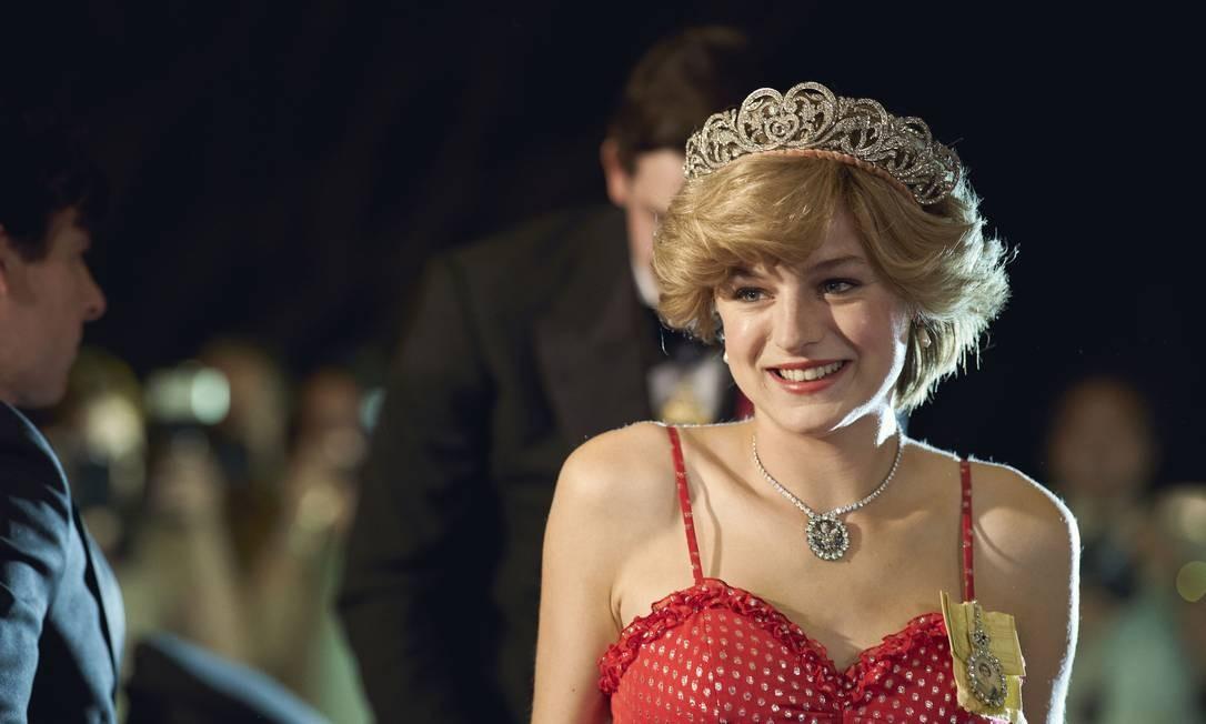 Diana, a princesa de Gales (Emma Corrin) Foto: Des Willie/Netflix