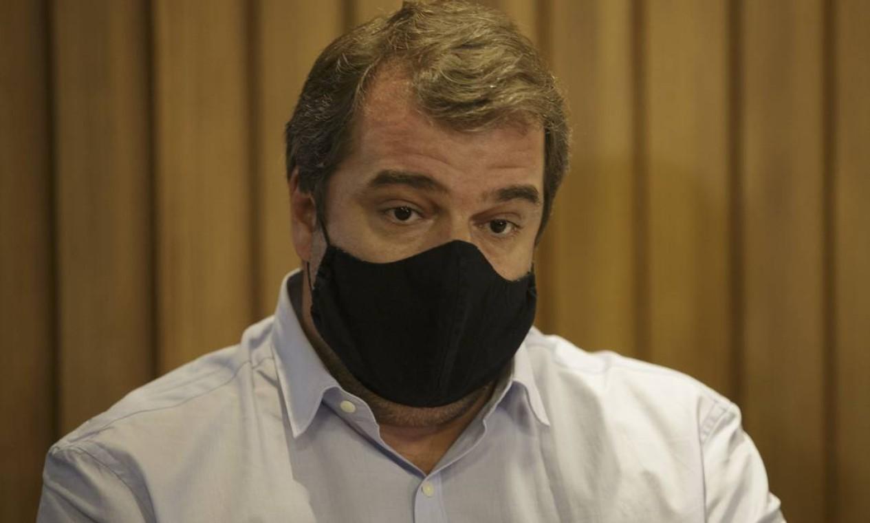 Guilherme Schleder, secretário de Esportes Foto: Márcia Foletto / Agência O Globo