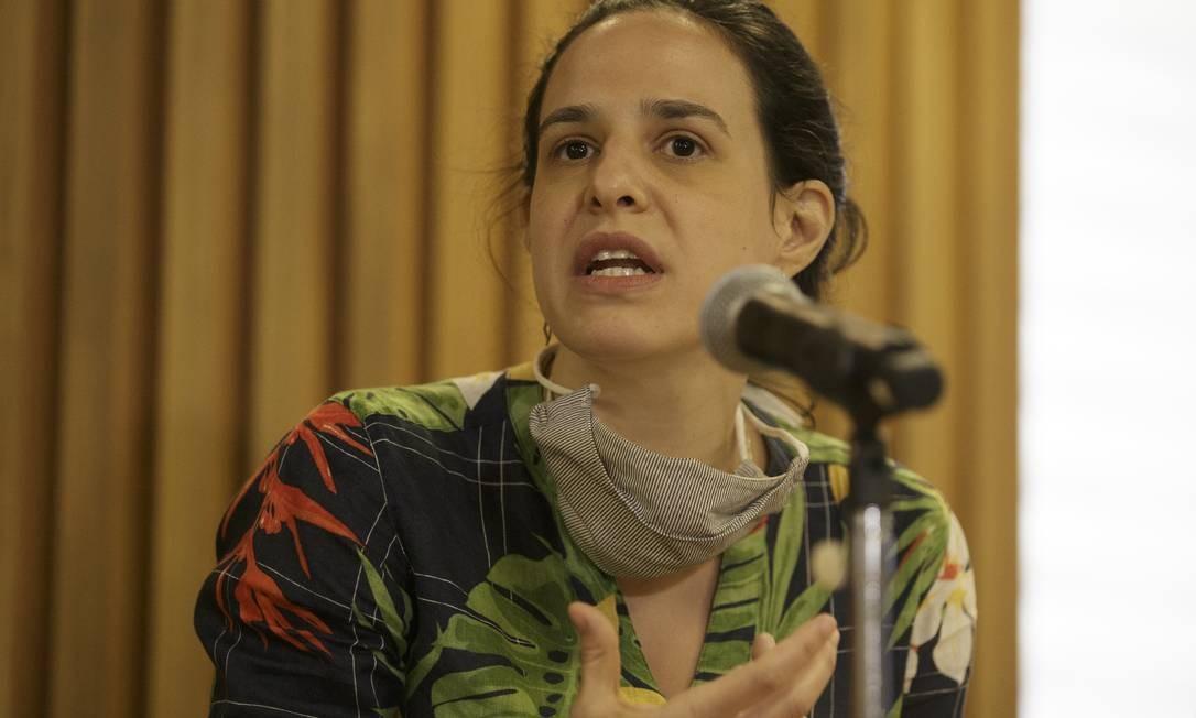 Maína Celidônio, secretária de Transportes Foto: Márcia Foletto / Agência O Globo