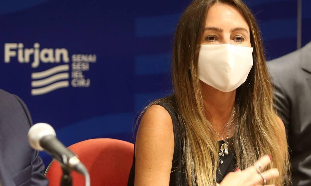 Daniela Maia, irmã gêmea de Rodrigo Maia, será presidente da Riotur Foto: Pedro Teixeira / Agência O Globo