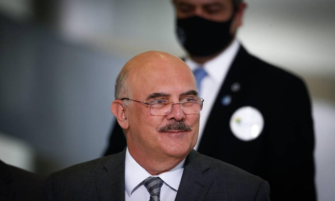 O ministro da Educação do Brasil, Milton Ribeiro, em foto de outubro de 2020 Foto: Pablo Jacob / Agência O Globo