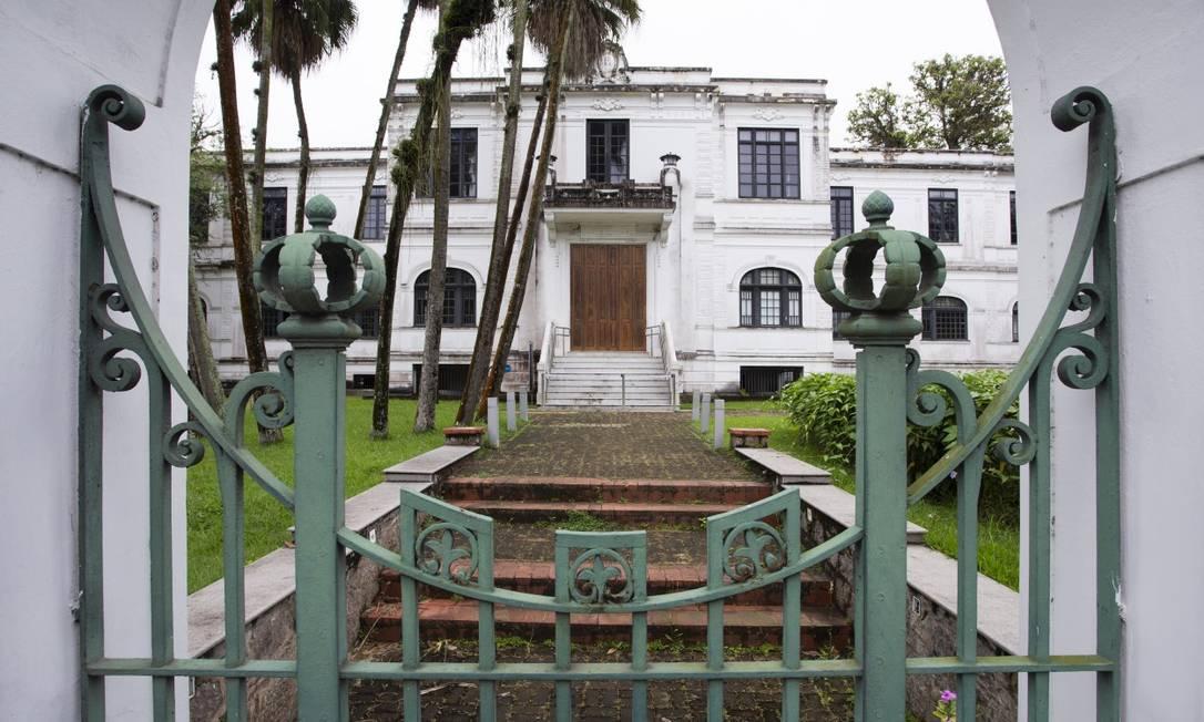 A fachada do Museu do Meio Ambiente: custo de R$ 100 mil por mês Foto: Leo Martins / Agência O Globo