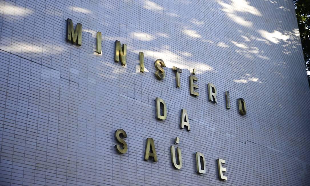 Ministério da Saúde na Esplanada dos Ministérios em Brasília Foto: Marcello Casal Jr. / Agência O Globo