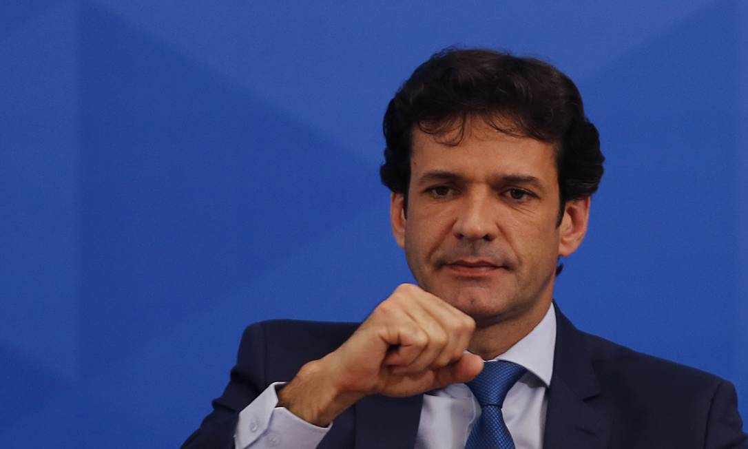 Ministro do Turismo, Marcelo Álvaro Antônio Foto: Jorge William / Agência O Globo