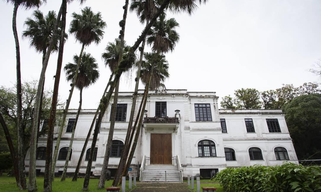 Fachada do Museu do Meio Ambiente, no Jardim Botânico Foto: Leo Martins / Agência O Globo