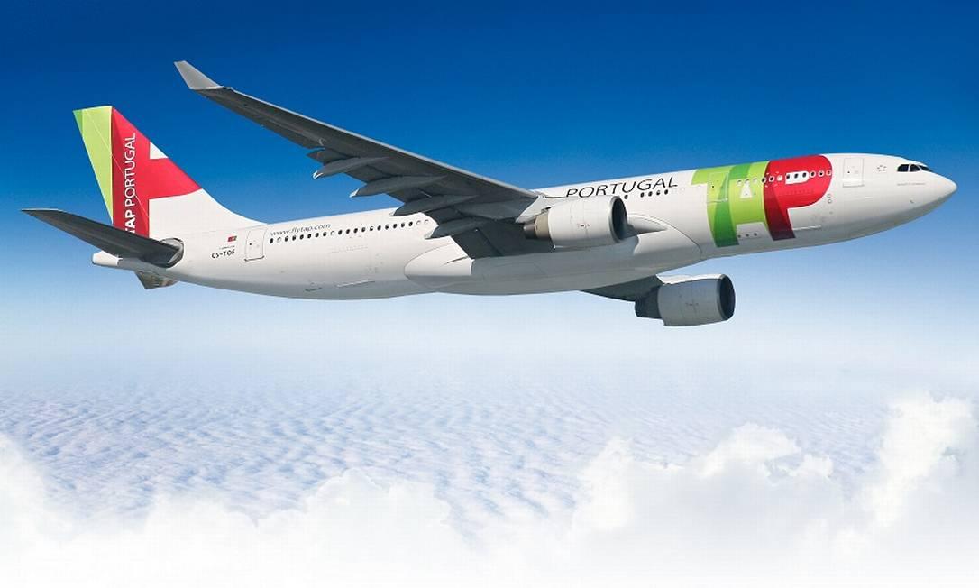 Avião A330 da TAP: ajuda do governo português Foto: Divulgação