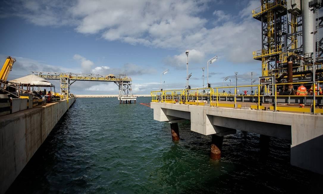 Porto do Açu: investimentos Foto: Brenno Carvalho / Agência O Globo