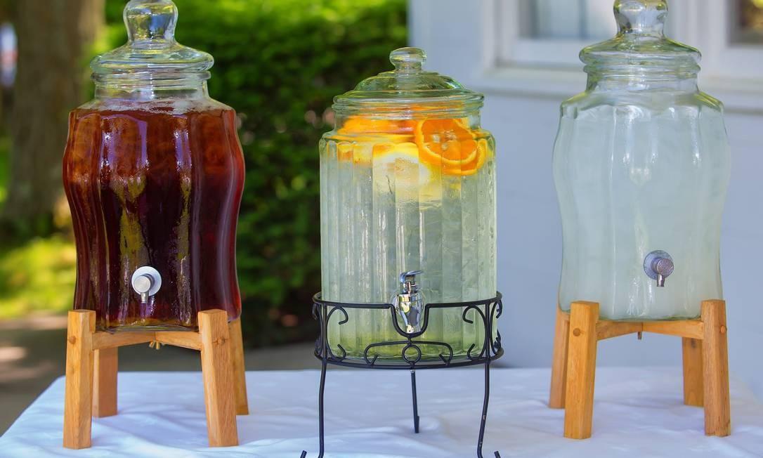 Chás gelados refrescam, hidratam e contribuem para o bem-estar Foto: Pixabay / Divulgação