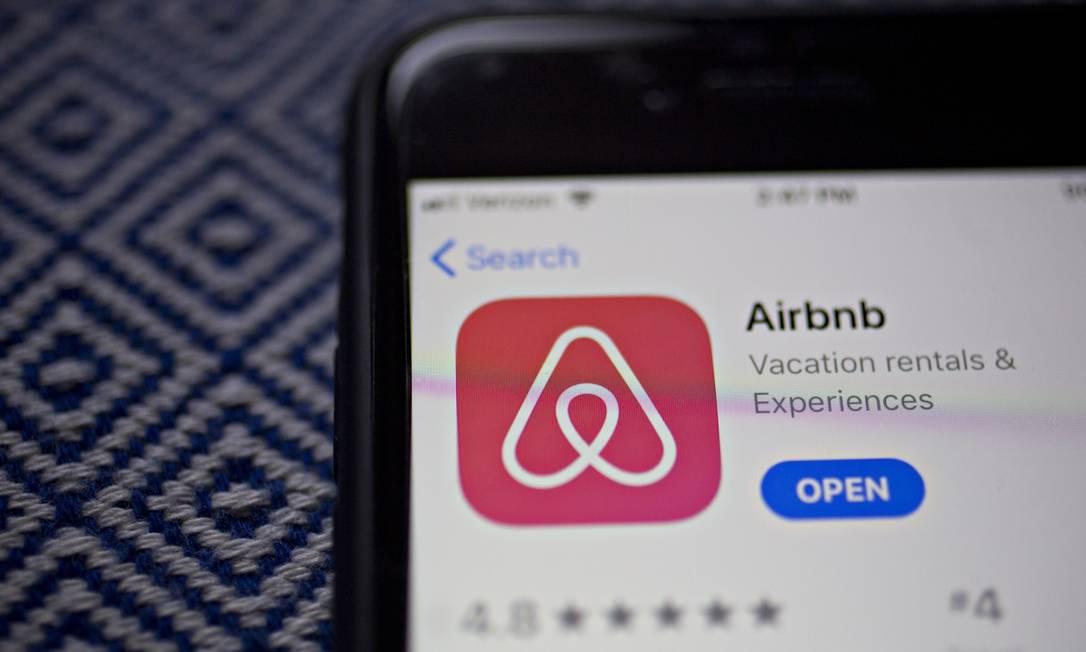 O Airbnb realiza nesta quarta-feira um dos mais esperados IPOs do ano Foto: Andrew Harrer / Bloomberg