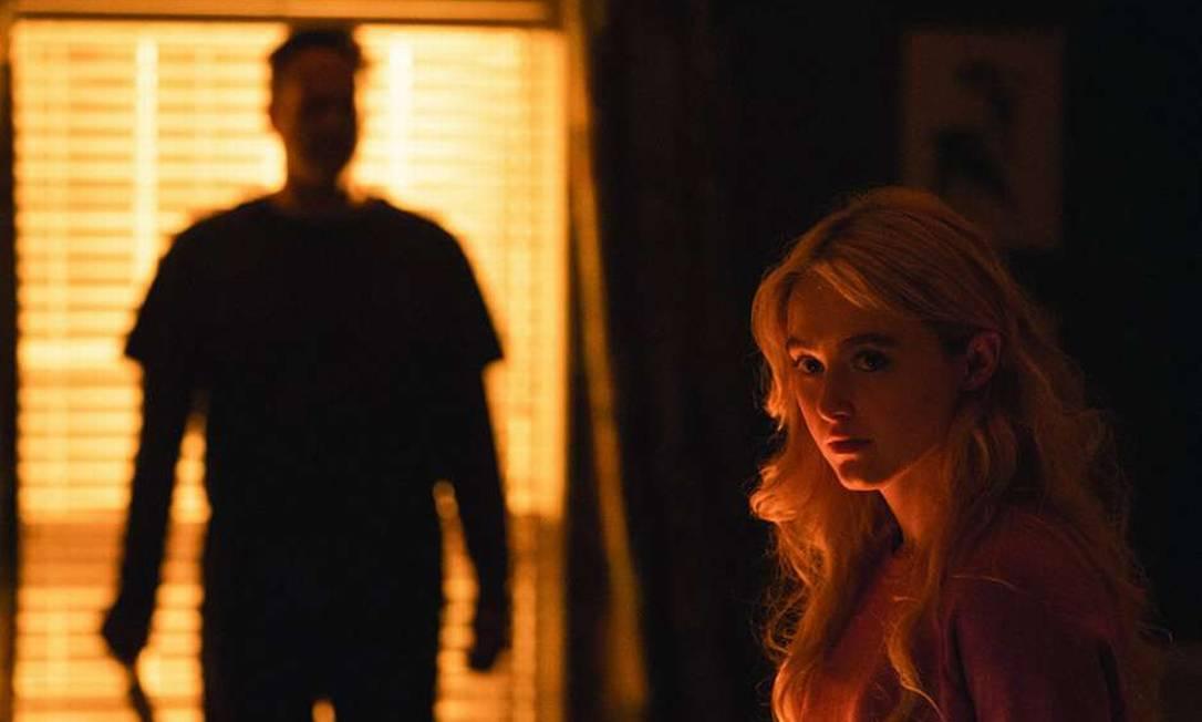 """Vince Vaughn e Kathryn Newton em cena do filme """"Freaky: No corpo de um Assassino"""" Foto: Divulgação"""