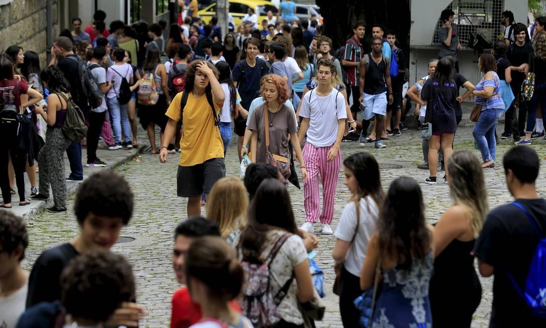 Alunos do Enem 2019 terão nova possibilidade para o Prouni Foto: Marcelo Theobald / Agência O Globo