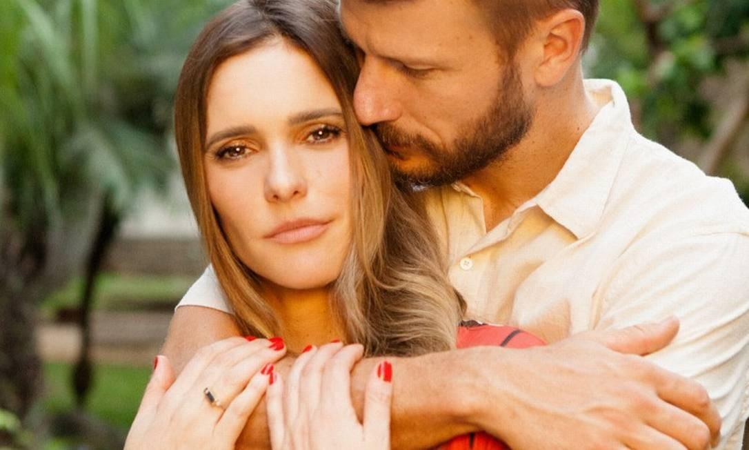 Fernanda e Rodrigo Foto: Tato Belline