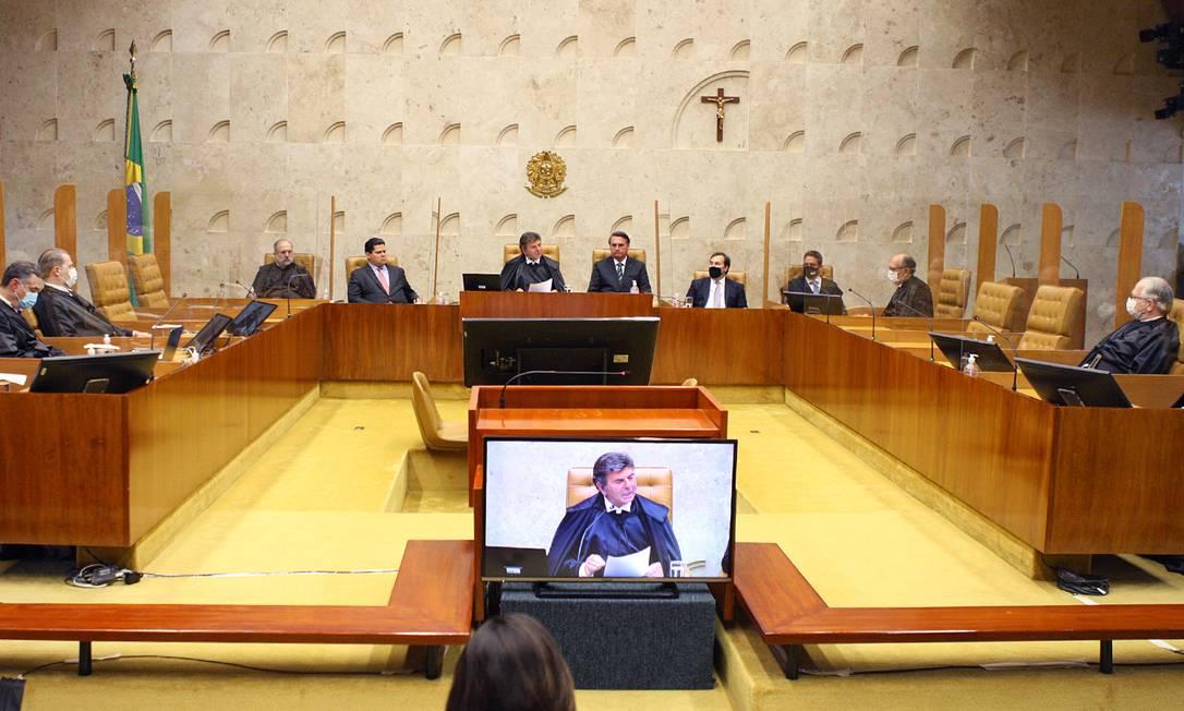 Posse de Kassio Nunes Marques como ministro do STF Foto: Nelson Jr./SCO/STF / Nelson Jr./SCO/STF