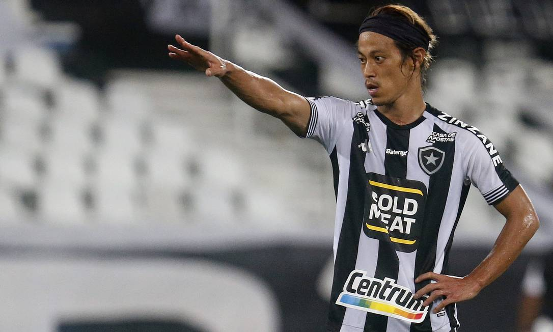Honda, ex-meia do Botafogo Foto: Vitor Silva/Botafogo