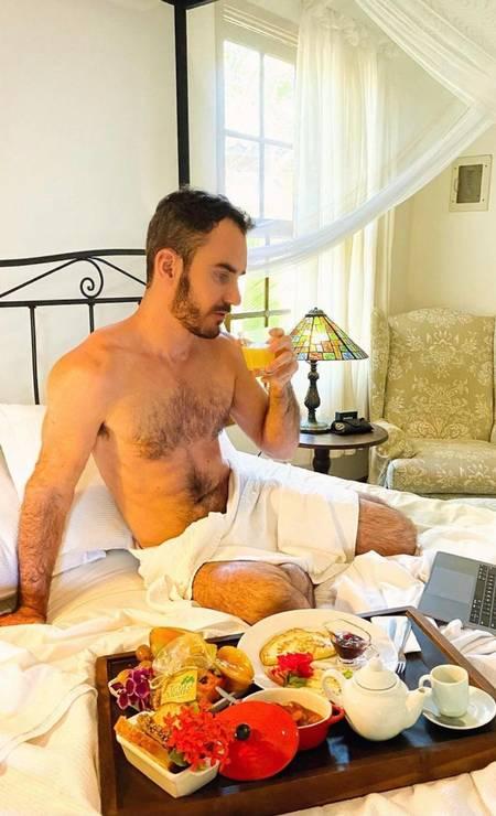 Aaron Salles Fernandes Silva Torres, hospedado em hotel de alto luxo Foto: Reprodução