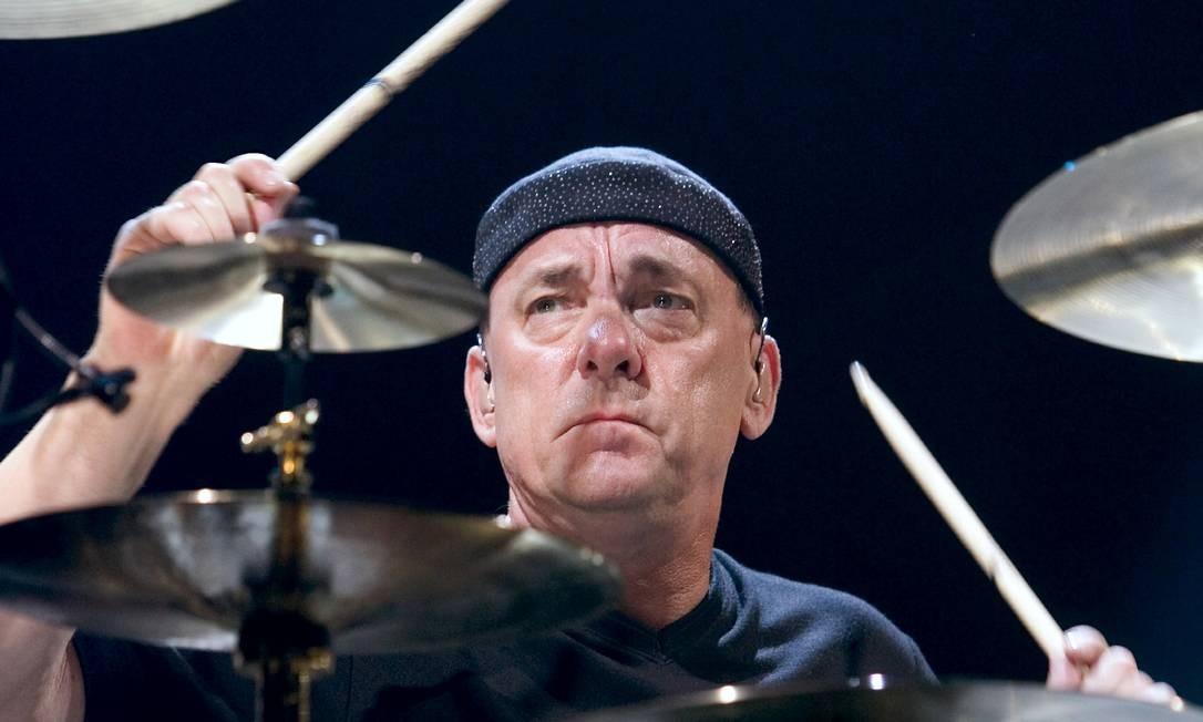 Neil Peart, músico canadense e baterista do Rush, morreu em 7 de janeiro, por causa de um tumor no cérebro Foto: Ethan Miller / Reuters