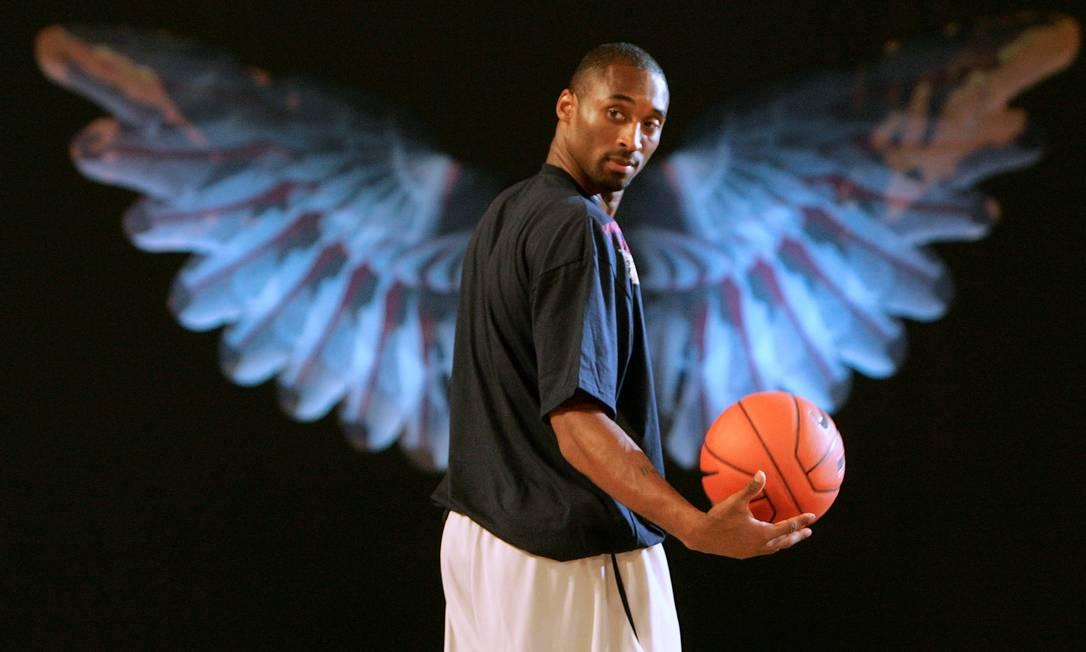 26/01 - Kobe Bryant, ex-jogador de basquete morreu, aos 41 anos, em um acidente de helicóptero Foto: Aly Song / Reuters