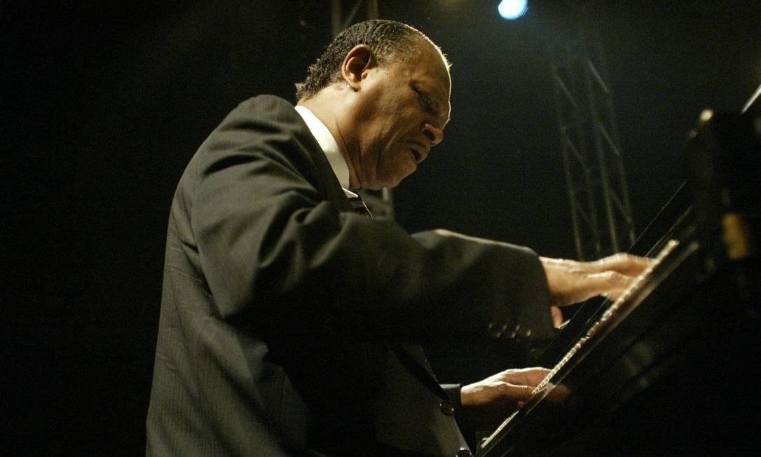 Um dos maiores pianistas da história do jazz, McCoy Tyner faleceu no dia 6 de março. A causa não foi divulgada. Foto: Leonardo Aversa : Leo Aversa / Leonardo Aversa / Agencia O Globo