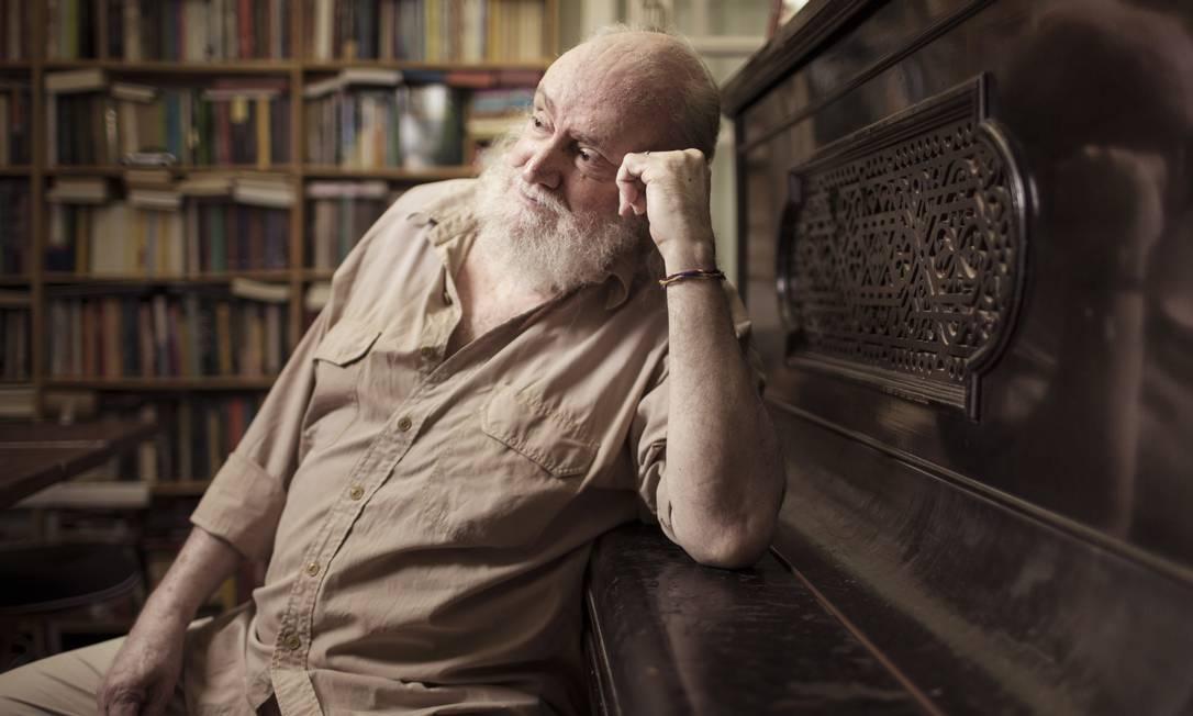 O compositor e escritor Aldir Blanc, faleceu, em decorrência de Covid-19, aos 73 anos, no dia 4 de maio. Foto: Leo Martins / Agência O Globo