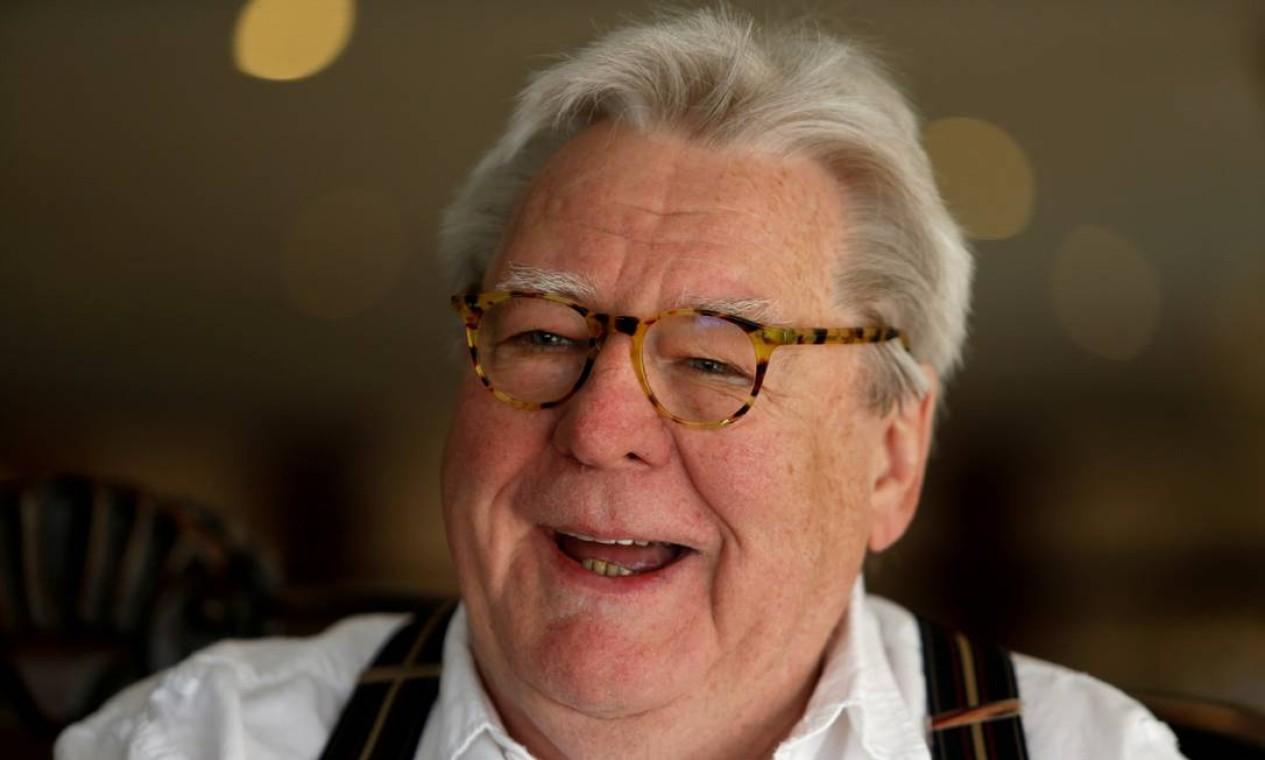 O inglês Alan Parker, diretor de 'The Wall', 'O expresso da meia-noite' e 'Mississippi em chamas', morreu aos 76 anos, após uma longa doença, no dia 31 de julho Foto: Darrin Zammit Lupi / Reuters