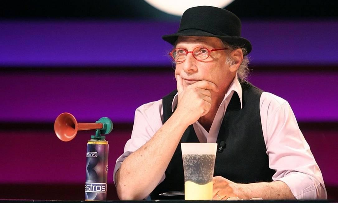 O produtor musical Arnaldo Saccomani morreu aos 71 anos, por causa uma rara doença renal, no dia 27 de agosto Foto: ROBERTO NEMANIS / Divulgação
