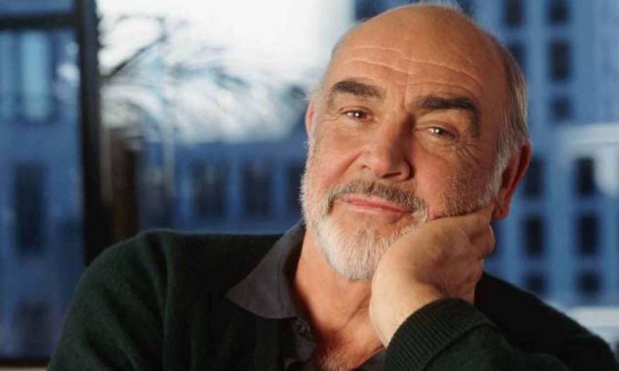 O ator britânico Sean Connery, o mais famoso James Bond, morreu aos 90 anos, dormindo em casa, no dia 31 de outubro. Foto: Agência O Globo