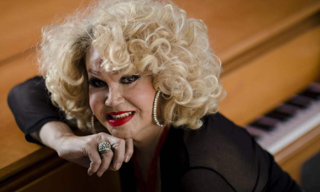 Atriz Jane Di Castro morreu de câncer, aos 73 anos, no dia 23 de outubro Foto: Leo Martins / Agência O Globo
