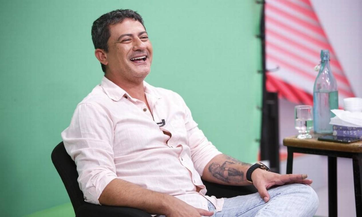 Tom Veiga, intérprete do personagem Louro José, do 'Mais Você', morreu no dia 1 de novembro, vítima de AVC. Ela tinha 47 anos Foto: