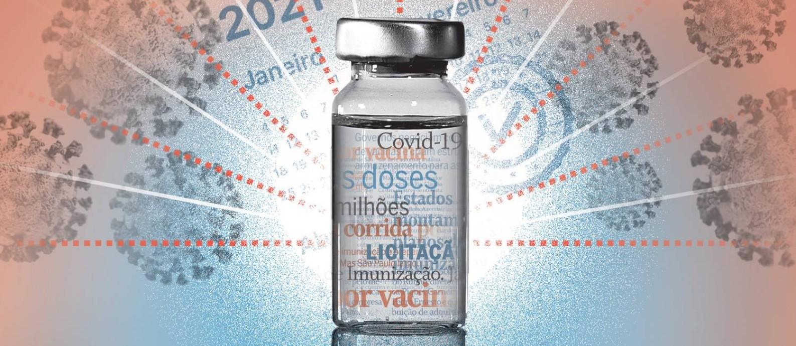 Neste manual reunimos tudo o que você precisa saber sobre as vacinas contra a Covid-19 Foto: Ivan Luiz