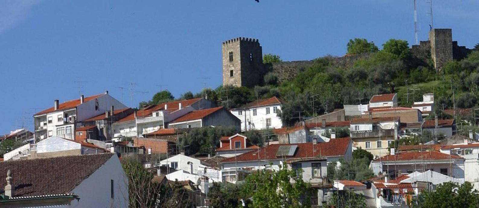 Paisagem de Castelo Branco, no interior de Portugal Foto: Divulgação