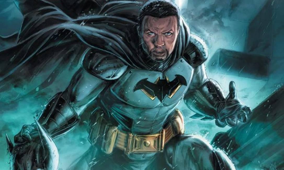 Tim Fox, o próximo Batman dos quadrinhos Foto: Reprodução/Twitter da DC