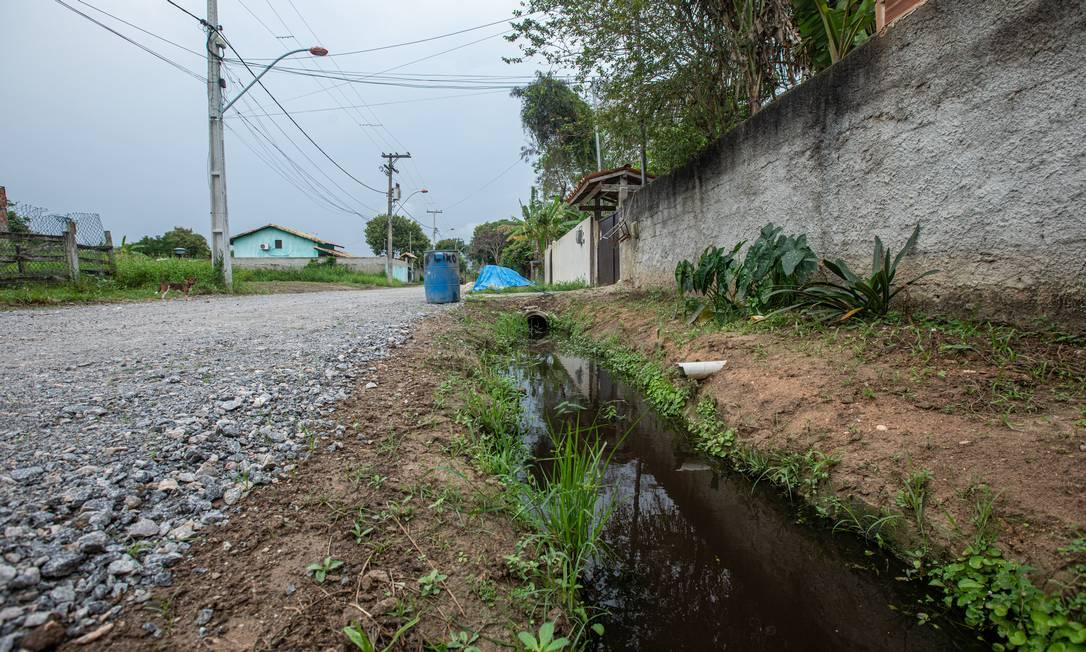 Maricá: cidade recebe royalties do petróleo, mas amarga falta de saneamento Foto: Brenno Carvalho / Agência O Globo