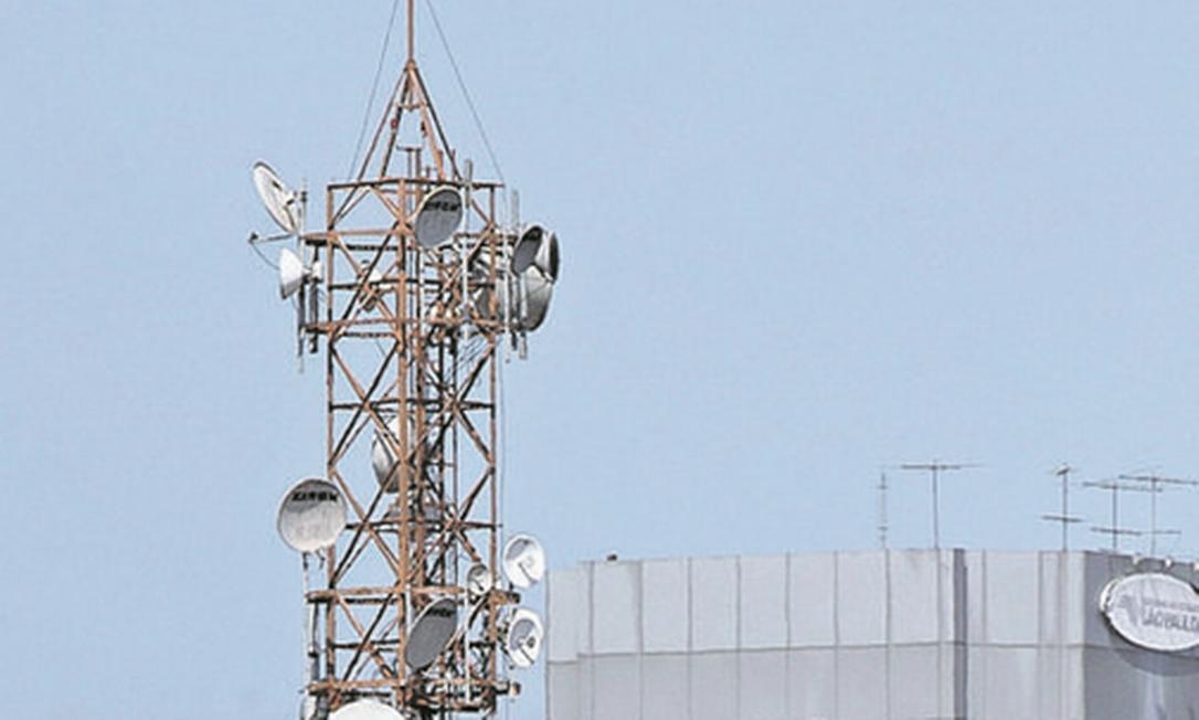 Antenas de telecom em SP: burocracia atrapalha avanço Foto: Edilson Dantas