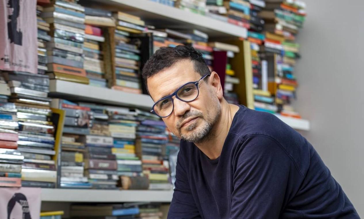 Criador da Agência Redes para Juventude, dramaturgo e cineasta, Marcus Faustini vai assumir a Secretaria de Cultura Foto: Ana Branco em 09-09-2020 / Agência O Globo