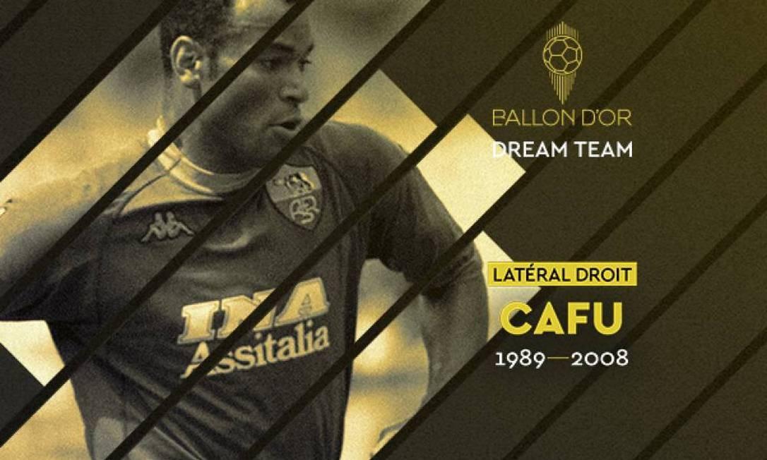 Cafu é eleito o melhor lateral-direito da história pela France Football Foto: France Football/Divulgação
