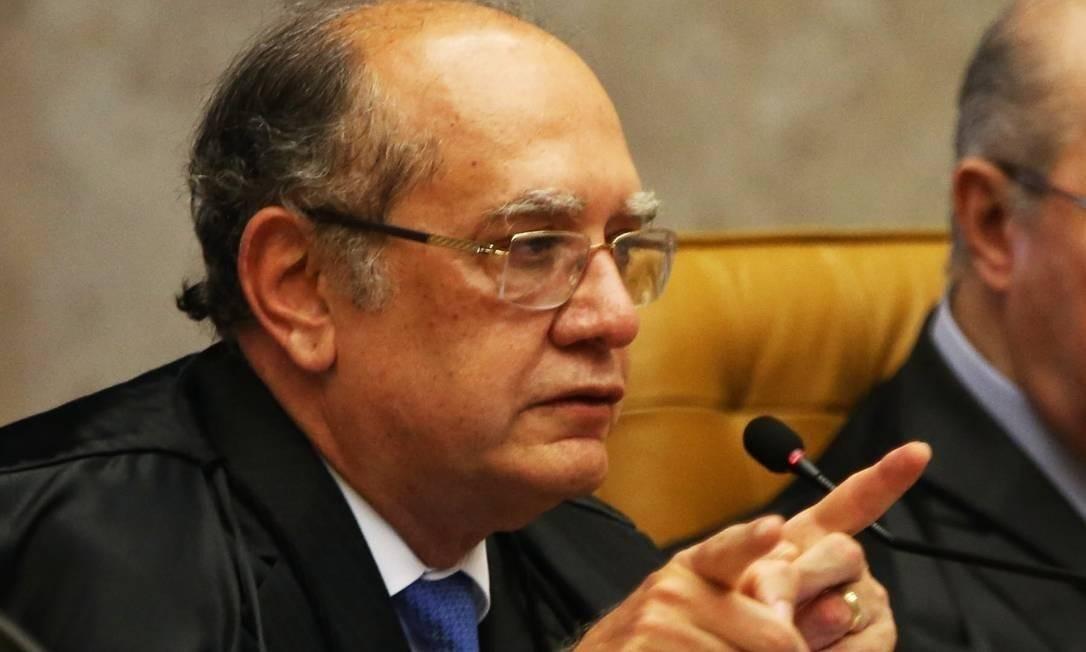 O ministro Gilmar Mendes, do STF, tomou a decisão em dezembro Foto: Givaldo Barbosa / Agência O Globo