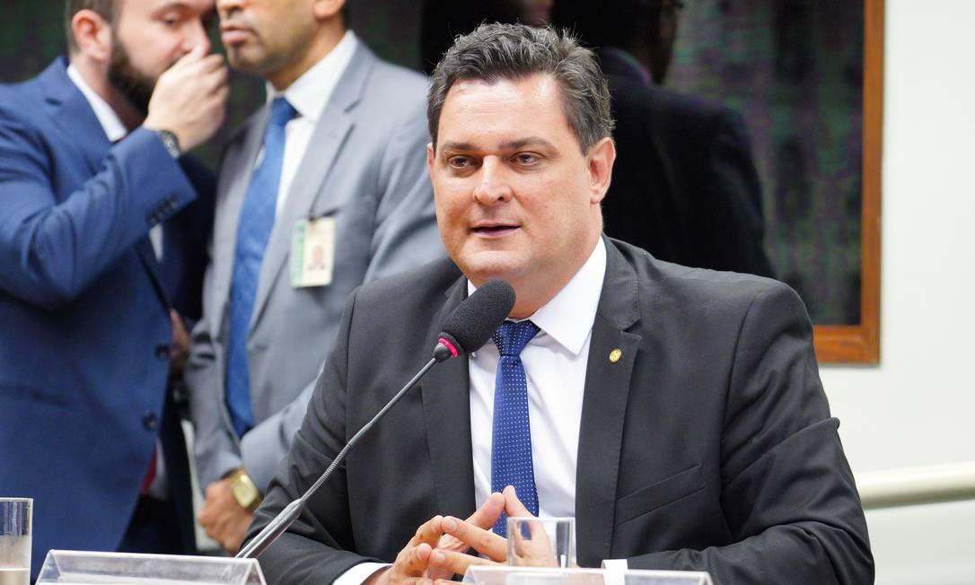O deputado federal Geninho Zuliani (DEM-SP) em comissão da Câmara Foto: Pablo Valadares/Câmara dos Deputados/12-02-2020