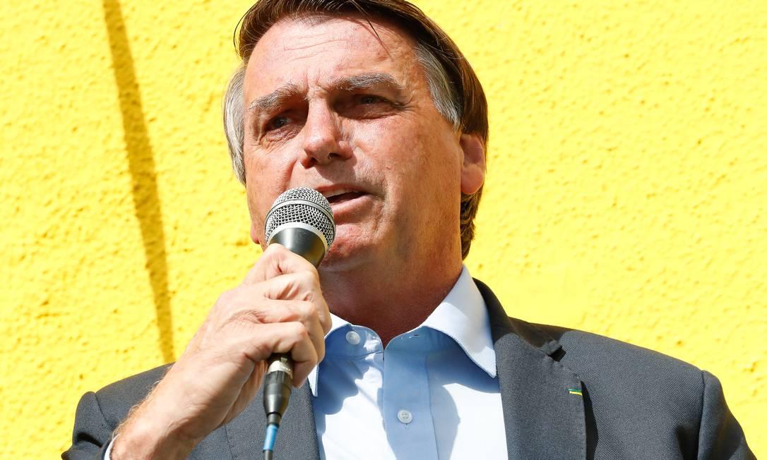 O presidente Jair Bolsonaro é acusdo de interferir no trabalho da Polícia Federal Foto: Alan Santos/PR