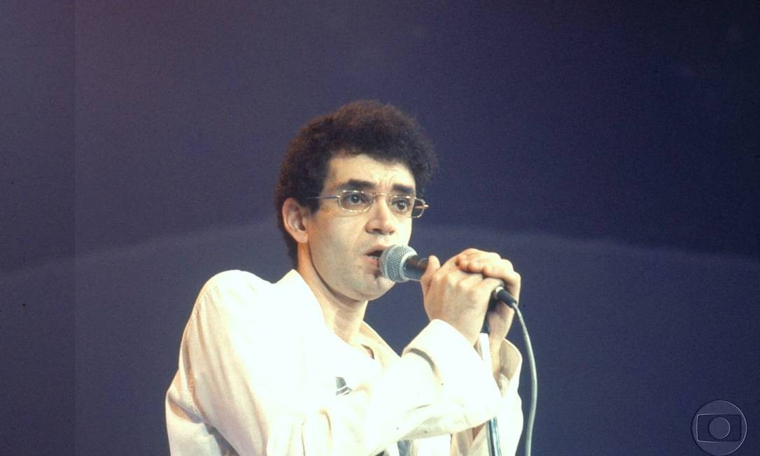 O cantor Renato Russo Foto: Divulgação