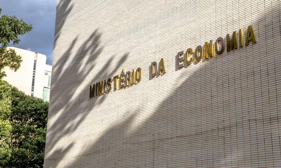Sede do Ministério da Economia, em Brasília Foto: Hoana Gonçalve / ME