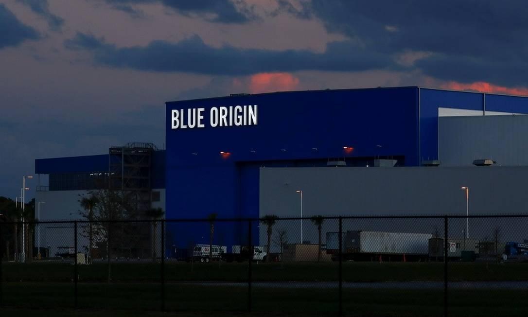 Sede da Blue Origin, de Bezos, perto do Centro Espacial Kennedy, no Cabo Canaveral, Flórida Foto: Mike Blake / REUTERS